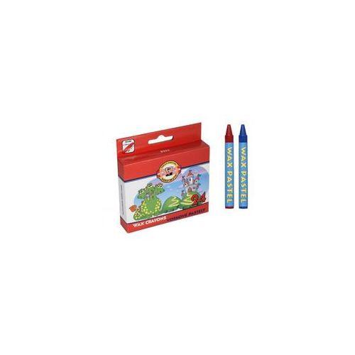 Koh i noor wax crayons kredki woskowe 24 kol marki Koh-i-noor