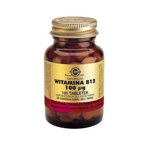 Tabletki Naturalna Witamina B12 - 100 tabletek - Solgar Kurier: 13.75, odbiór osobisty: GRATIS!