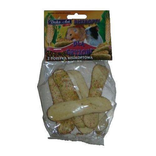 Dako art biszkopty dla gryzoni z posypką biszkoptową 50g marki Dako-art
