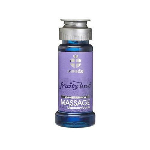 Balsam owocowy do masażu - fruity love massage jeżyna i porzeczka 50ml marki Swede