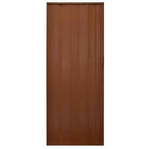 Drzwi Harmonijkowe 008P 029 Mahoń Mat 80 cm