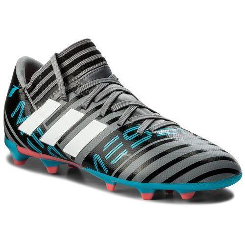 Buty - nemeziz messi 17.3 fg j cp9174 grey/ftwwht/cblack marki Adidas