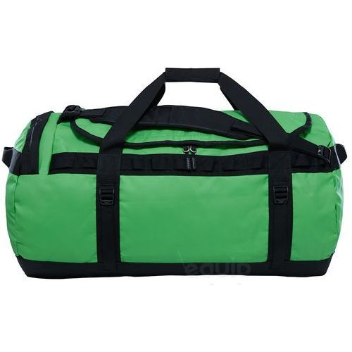 Torba podróżna base camp duffel l ne - classic green / tnf black marki The north face