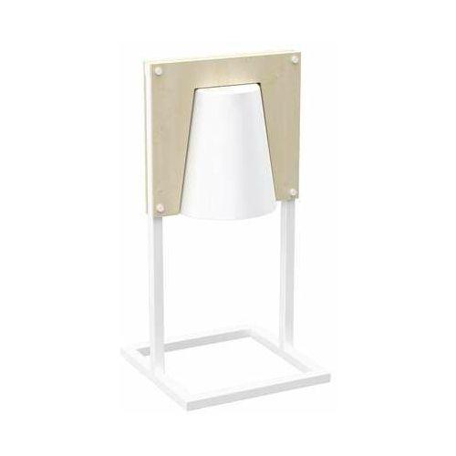 Milagro noah white mlp5535 lampa stołowa lampka 1x60w e27 biały