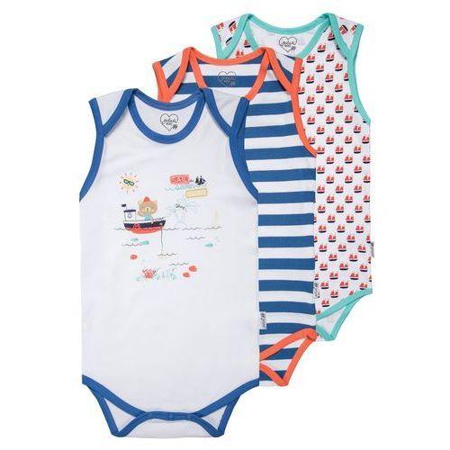 Gelati Kidswear THE 7 SEAS 3 PACK Body multicolor - sprawdź w wybranym sklepie