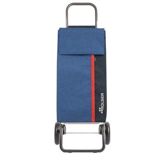 Rolser kangaroo i-max convert rg wózek na zakupy na 2 kołach / kan001 tweed azul / niebieski