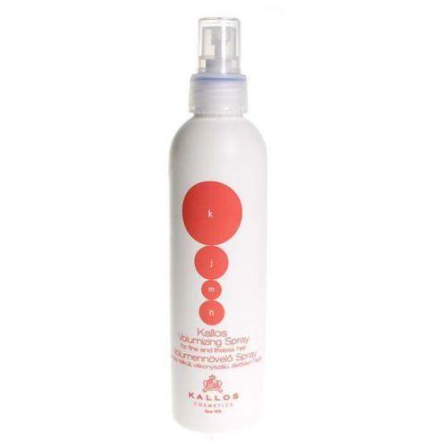 KALLOS KJMN Spray Volumizing zwiększający objętość fryzury 200 ml z kategorii stylizacja włosów