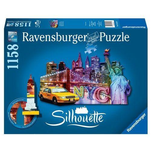 Ravensburger Puzzle Nowy Jork Sylwetka, 1158 el. (4005556161539)