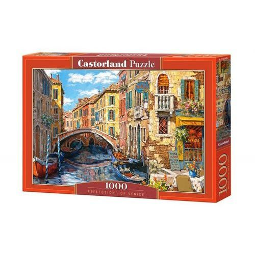 Puzzle 1000 reflections of venice - od 24,99zł darmowa dostawa kiosk ruchu marki Castor