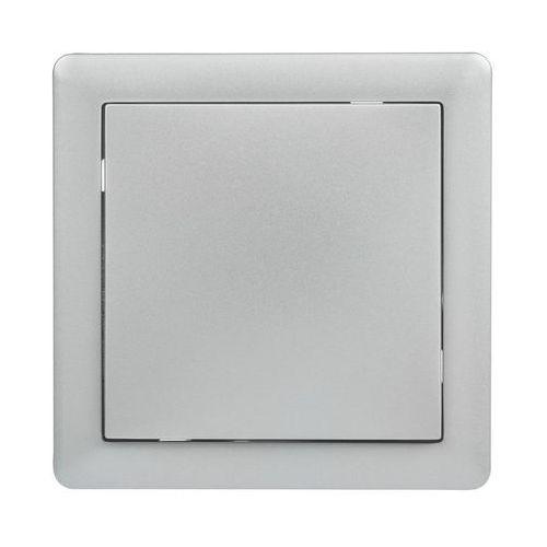 Lexman Włącznik schodowy pojedynczy slim srebrny (5901171202260)