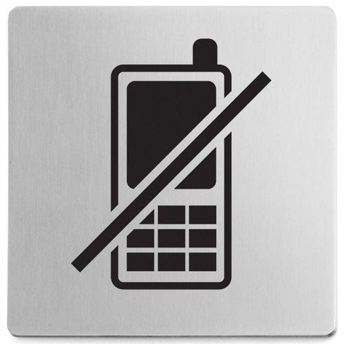 Znaczek informacyjny Zakaz używania telefonów Indici Zack (50717) (4034398507175)