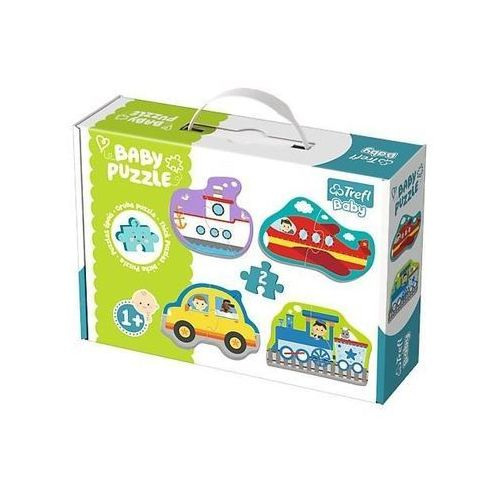 Puzzle Baby Classic Pojazdy transportowe (5900511360752)