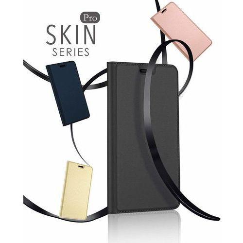 DUX DUCIS Skin Pro kabura etui pokrowiec z klapką Huawei Mate 10 Lite złoty, 42326 (10504198)