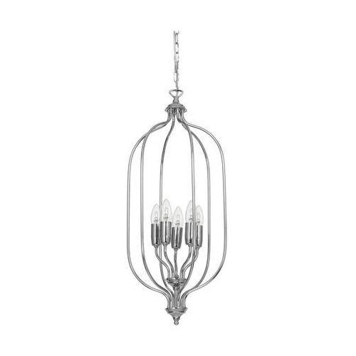 Lampa wisząca zwis Aldex Tifra Kel 5x60W E27 satyna 889F4