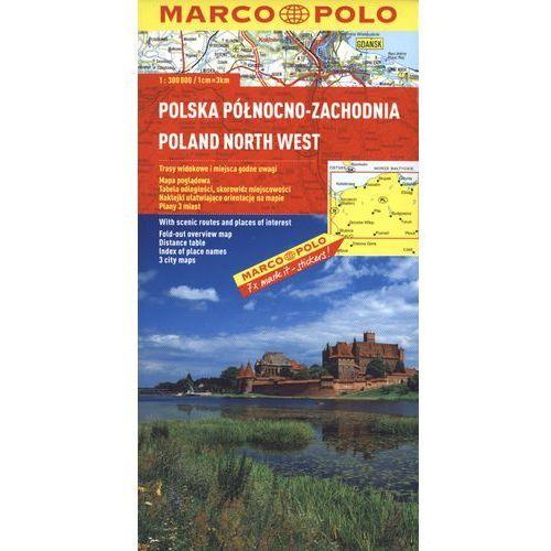 Polska Północno - Zachodnia. Mapa Marco Polo 1:300 000 (9783829737746)
