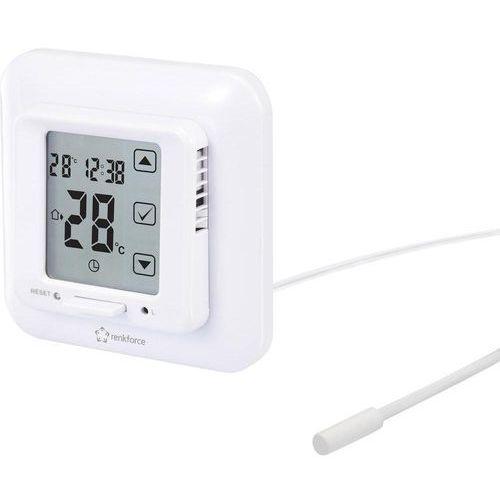 Termostat pokojowy  mh-3202, zakres regulacji temperatury: 5 do 45 °c marki Renkforce