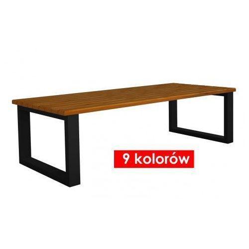 Ława ogrodowa norin 180x76x47 - 9 kolorów marki Producent: elior
