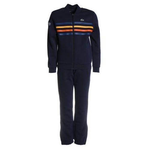 Lacoste Sport TRACKSUIT STRIPES Dres navy blue/marino/buttercup/apricot/white, WJ5782-00