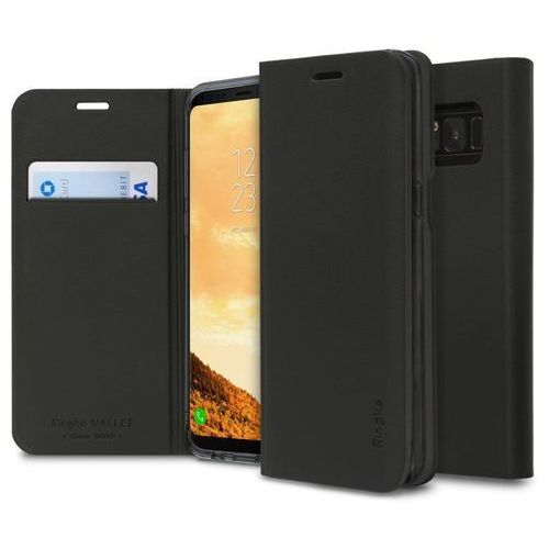 Ringke Etui wallet fit samsung galaxy s8 plus black