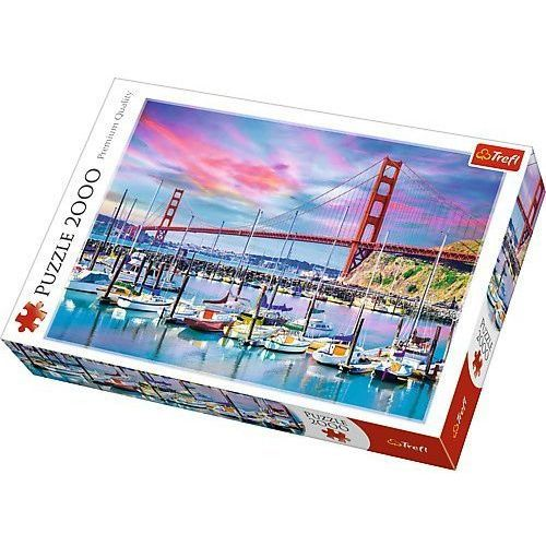 Trefl Puzzle golden gate san francisco 2000 (5900511270976)