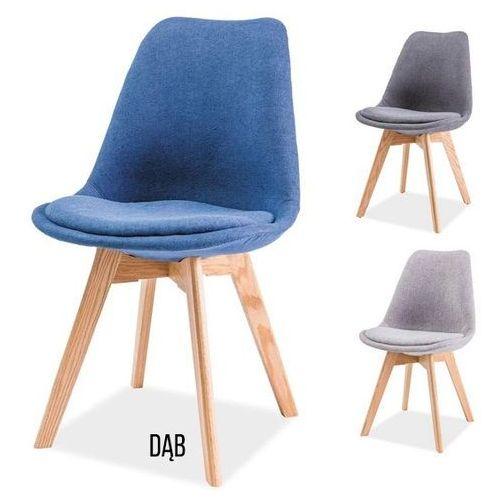 Signal Krzesło drewniane dior dąb, kolory - styl skandynawski
