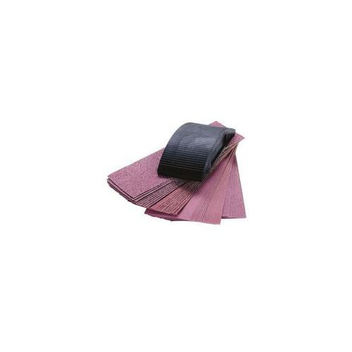WOLFCRAFT Klocek szlifierski z tworzywa + papier ścierny 50szt. WF2898000