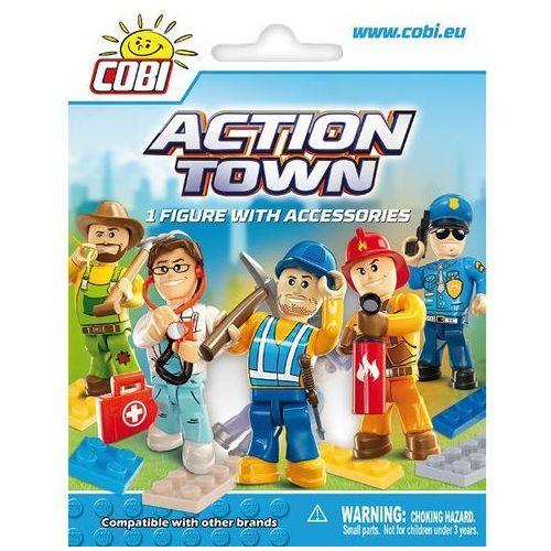 Action Town: Figurka z akcesoriami - Cobi. DARMOWA DOSTAWA DO KIOSKU RUCHU OD 24,99ZŁ
