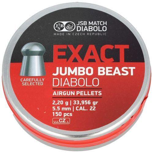Śrut JSB Exact Jumbo Beast 5.52mm, 150szt (546387-150)