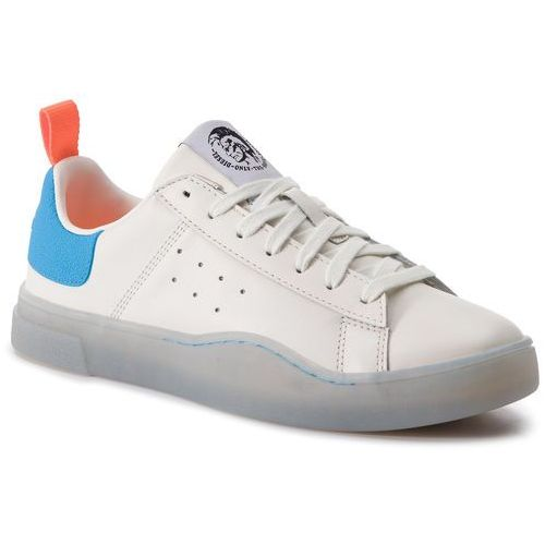 Sneakersy DIESEL - S-Clever Low Y01748 P2282 H7099 Star White/Light Blu, 1 rozmiar