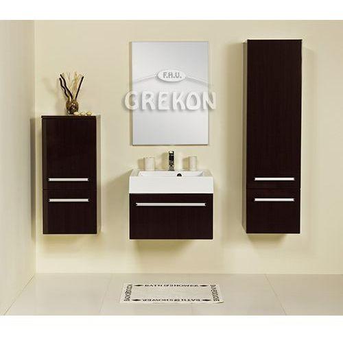 Szafka łazienkowa wysoka fks-wp-rw/1 fokus wenge połysk marki Gante