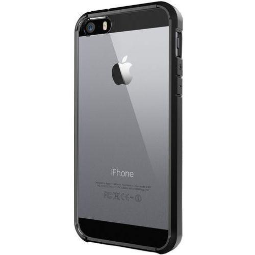 Spigen Ultra Hybrid iPhone 5/5s/SE czarny, kolor czarny