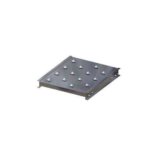 Stół kulowy, wys. konstrukcji 70 mm, szer. przenośnika 400 mm, dł. 500 mm, podzi marki Gura fördertechnik