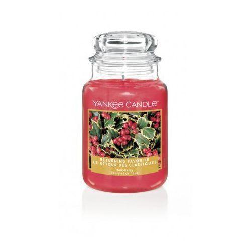 Yankee Candle Hollyberry duża świeca zapachowa 623g, 5038581061771