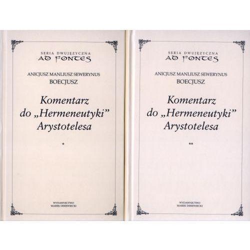 Komentarz do Hermeneutyki Arystotelesa tom 1 i 2, oprawa twarda