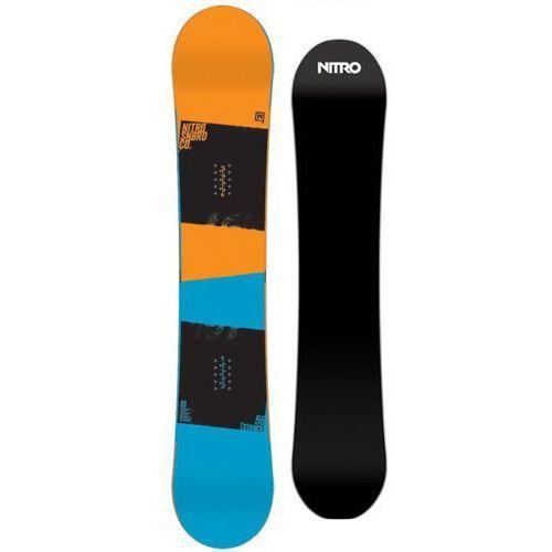 Nitro Nowa deska snowboard stance rtl 156w