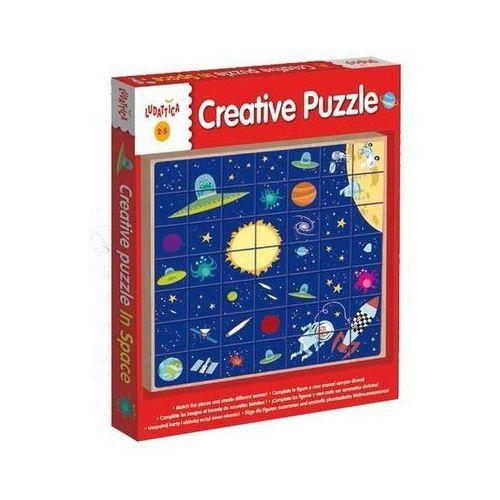 Liscianigiochi Ludattica legno creative puzzle in space