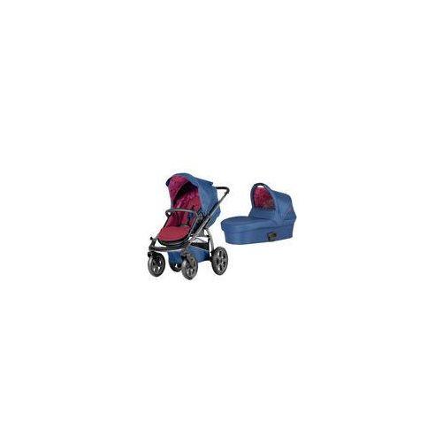 Wózek wielofunkcyjny 2w1 x-move  (berry red) marki X-lander