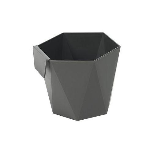 Lamela Osłonka plastikowa 9.5 cm antracytowa heca