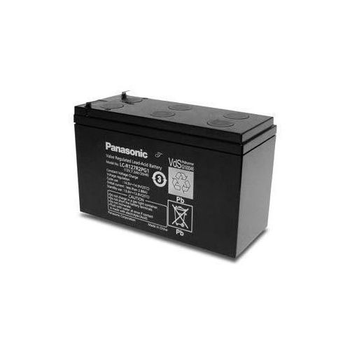 Akumulator AGM Panasonic LC-R 127R2PG1 12V 7.2Ah T2 - produkt z kategorii- Pozostałe