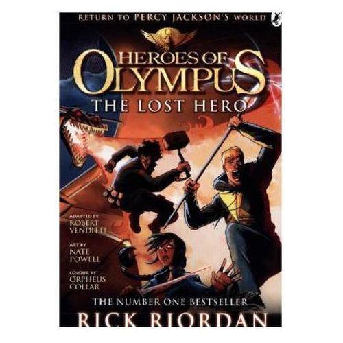 Heroes Of Olympus: The Lost Hero: The Graphic Novel, Riordan, Rick