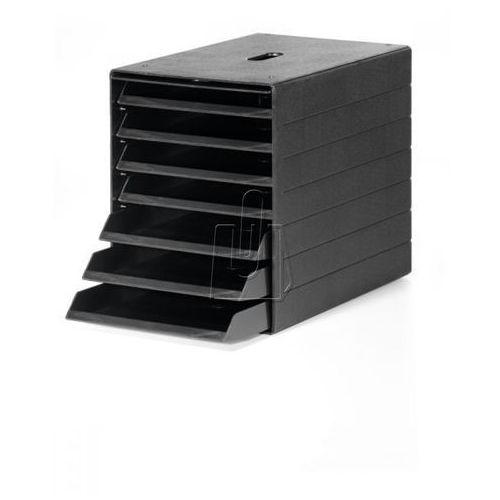 Durable Pojemnik z 7 szufladami  idealbox plus czarny 1712001060