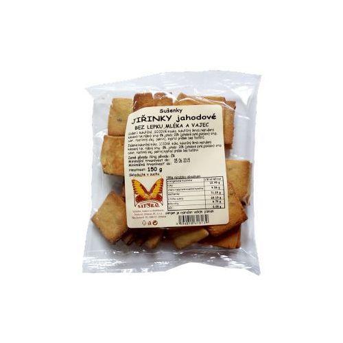 Ciasteczka gryczane z truskawkami 150g  marki Natural