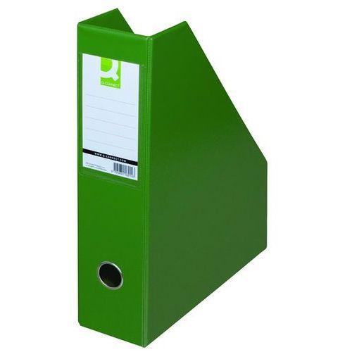 Pojemnik na dokumenty , pvc, a4/76, zielony marki Q-connect