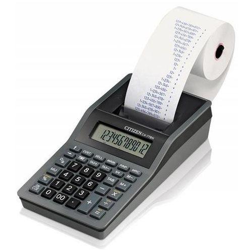 Citizen Kalkulator drukujący cx-77bnn, 12-cyfrowy, 200x102mm, czarno-antracytowy (4562195133841)