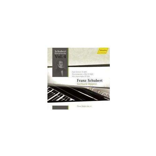 Piano Works Vol 4: Two Scherzi D 593 / Sonata In E Minor D 566 / 4 Impromptus D 935 / Op. 142