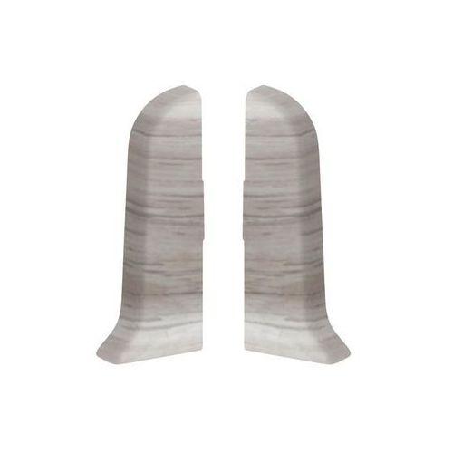 Narożnik zewnętrzny do listwy przypodłogowej ERGO 56 Dąb sedański 2 szt.