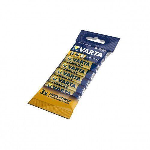 baterie alkaliczne r3(aaa) 8szt. longlife marki Varta