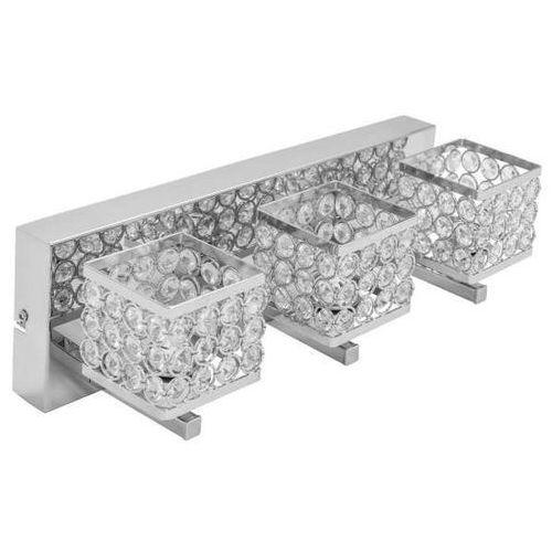 Spotlight Kinkiet lampa ścienna magna 9017328 metalowa oprawa glamour z kryształkami crystal chrom (5901602317501)