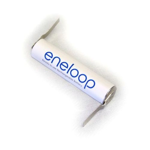 Panasonic 1 x eneloop r03/aaa 800mah z przygrzanymi blaszkami typ:u