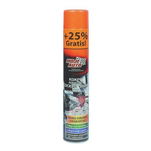 Moje auto Spray kokpit błyszczący black 600ml 19-113 !odbiór osobisty kraków! lub wysyłka od 7zł! (przy zakupie 24 sztuk cena 6.50zł netto)